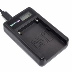 NP-F960 NP-F970 NP F930 battery LCD charger for SONY