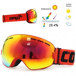 UV400 anti-fog double layer ski snowboard goggles