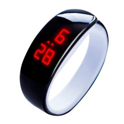 Sports LED digital watch bracelet unisex
