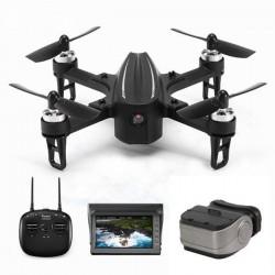 Eachine EX2mini Brushless 5.8G FPV - RC Drone Quadcopter RTF - With Camera + FPV Monitor + Glasses - Mode 2 (Left Hand Throttle)
