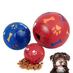 Educational Interactive Dog Chew Toy - Rubber Ball