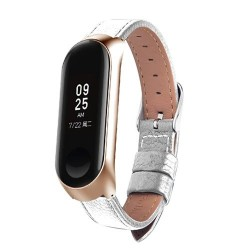 Leather band for Xiaomi Mi Band 3 - 4 watch