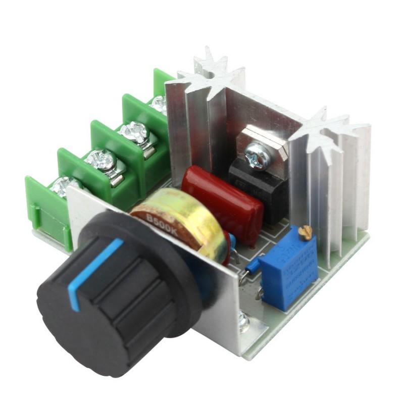 220V 2000W Speed Controller SCR Voltage Regulator Dimmers Thermostat