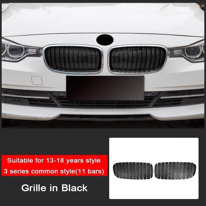 Front Grill Trim Cover Stickers For Bmw 3 5 Series Bmw F30 F10 F3