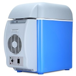 12V 75L mini - portable dual-use cooler & warmer - multi-function car refrigerator