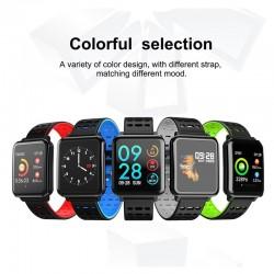 Q8 IP67 waterproof bluetooth heart rate monitor & pedometer - smartwatch