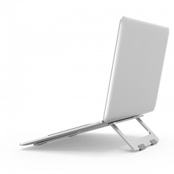 Foldable aluminum adjustable stand for laptop & tablet