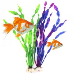 Artificial plastic grass plant - aquarium decoration