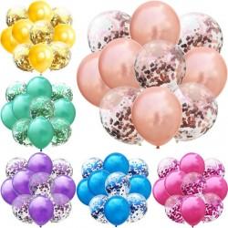"Decorative latex balloons 12"" - 10 pieces"