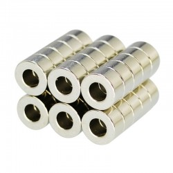 N35 neodymium magnet - mini super strong ring 10 * 5 * 5mm 10 pieces