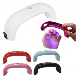 9W LED portable nail UV gel dryer lamp