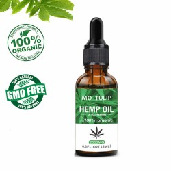 Hemp extract oil - sleep aid - anti stress - pain & anxiety relief - 2000mg CBD essential oil
