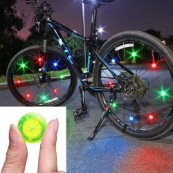 Bike wheel spoke light - warning LED lamp - waterproof - TL2411