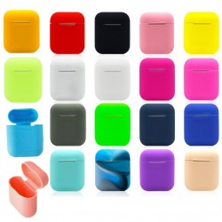 Soft silicone earphones case - protective cover box