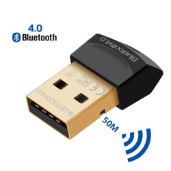 Bluetooth V4.0 CSR - 2.4GHz - dual mode - mini USB wireless adapter