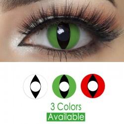 Halloween cat eye - contact lenses