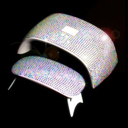 3D shiny sticker for 6W/24W UV nail dryer lamp - self-adhesive
