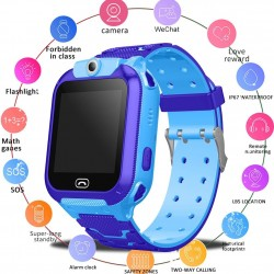 Kids smart watch - SOS call - GPS location finder - waterproof